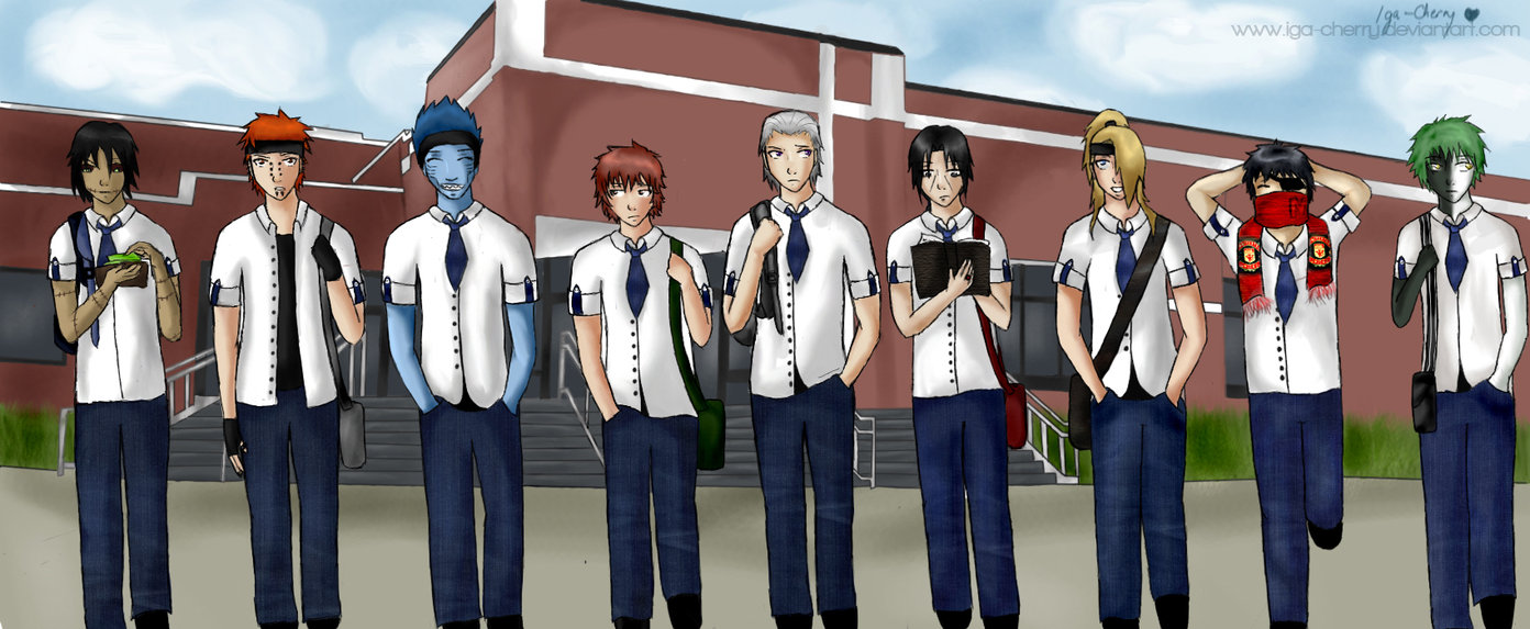 Wallpaper Konoha High School ALL ABOUT RAR