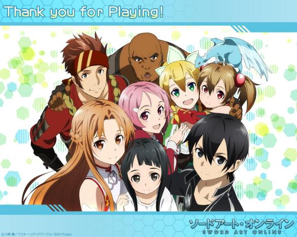 AOA Sword Art Online Wallpaper