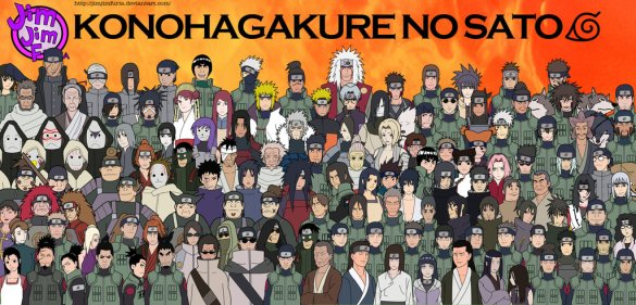 AOA Konohagakure ninja