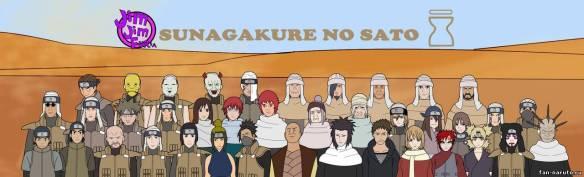 AOA sunagakure ninja