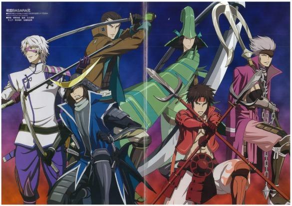 AOA Sengoku Basara Season 2 Wallpaper