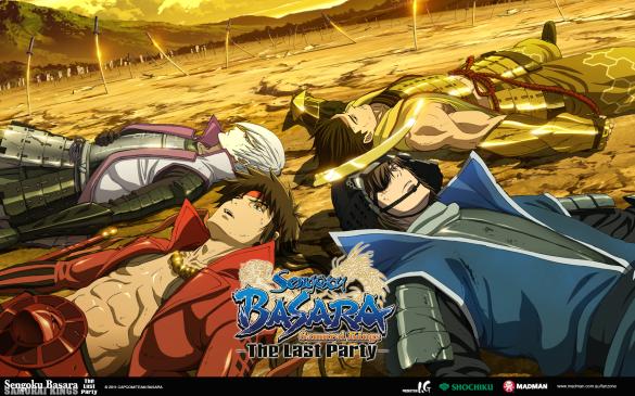 AOA Sengoku Basara Movie Wallpaper